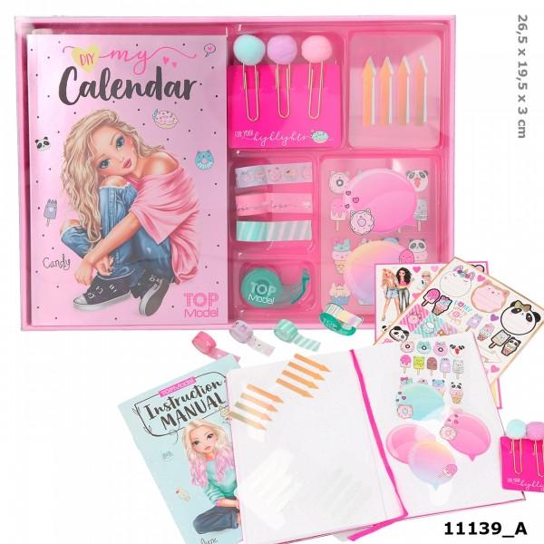 Depesche 11139 TOPModel Create your Calendar Kalender CANDY CAKE Donuts