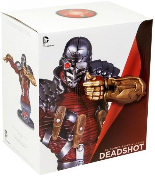 DC Comics Collectibles Super-Villains Deadshot Statue Büste ca 17cm Sammelfigur