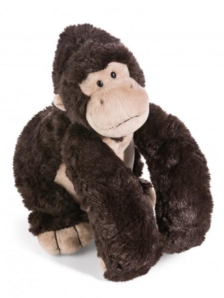 Nici 41696 Gorilla Torben sitzend ca 20cm Schlenker Plüsch Kuscheltier Wild Friends