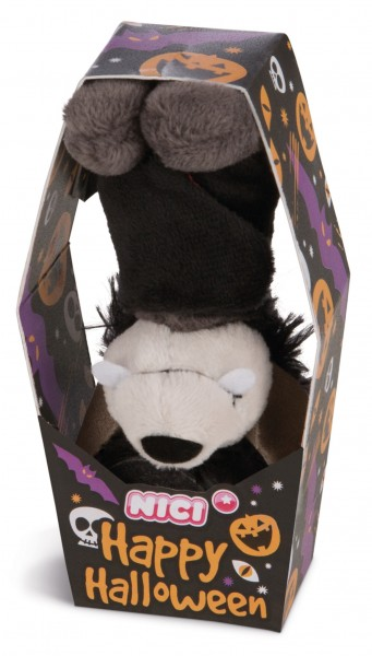 Nici 43670 Fledermaus mit Loop ca 10cm Plüsch Happy Halloween