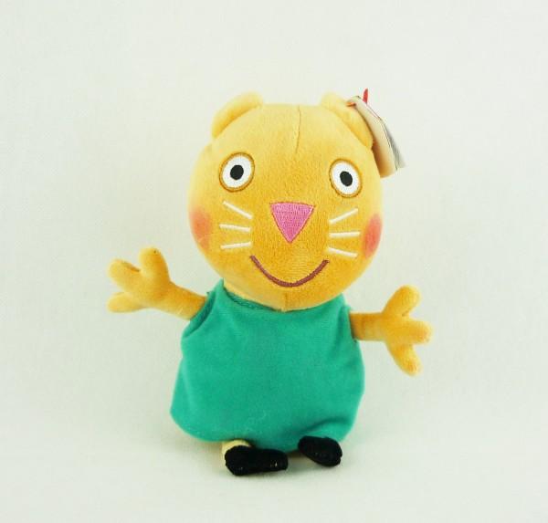 TY Beanie Babies Peppa Pig Wutz Mollie Mieze Katze ca 15cm Plüsch 46172