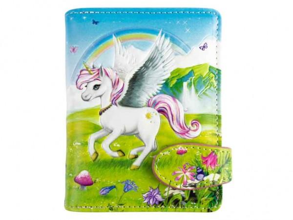 bb Klostermann Geldbeutel Geldbörse 15001 Nania Pegasus Regenbogen