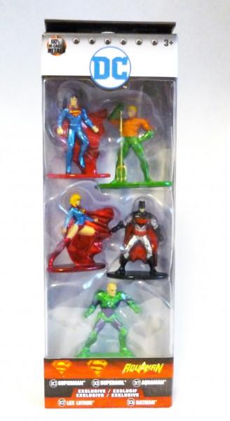 DC Nano Metalfigs 5-Pack Serie 2 Pack B Die-Cast Metal Sammelfiguren 98664