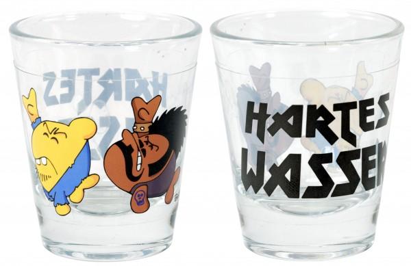 """Ralph Ruthe Schnapsglas 2er Set """"Hartes Wasser"""""""