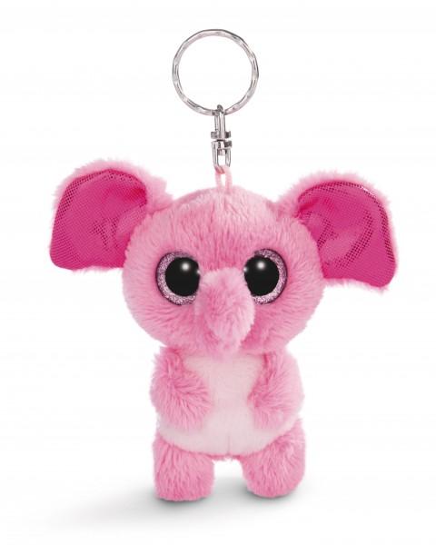 Nici 45544 Glubschis Schlüsselanhänger Elefant Fluppy ca 9cm Plüsch