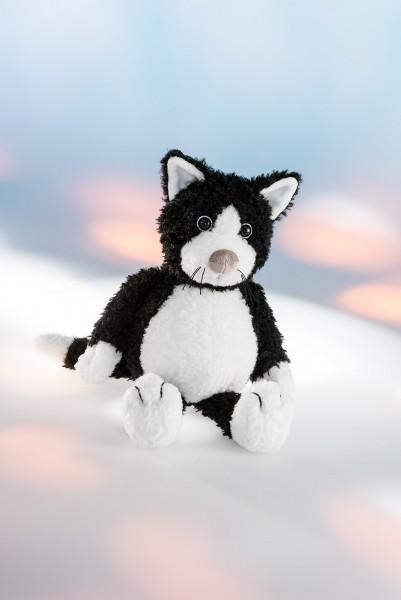 """Schaffer 5441 Katze """"Blacky"""" schwarz ca 21cm Plüsch Kuscheltier Schlenker"""