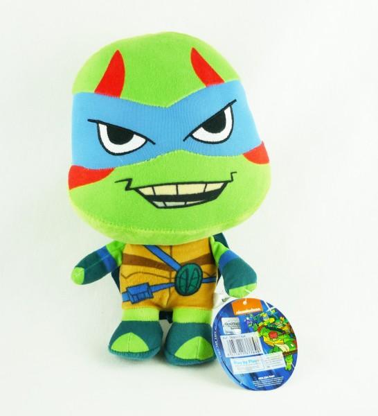 Rise of the Teenage Mutant Ninja Turtles TMNT Plüsch ca 28cm Leonardo Blau