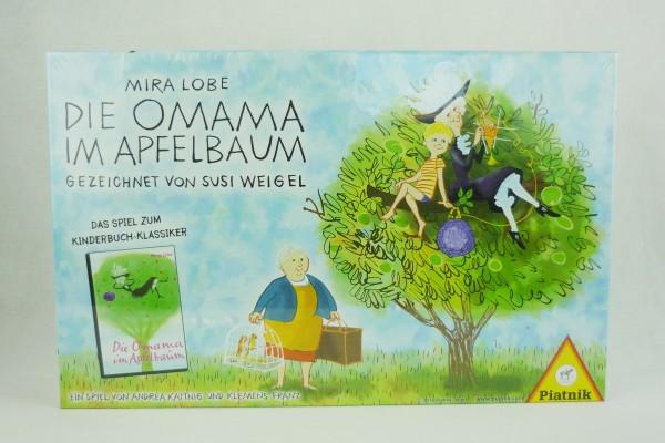 Die Omama im Apfelbaum Familienspiel zum Kinderbuch Piatnik 2-5 Spieler