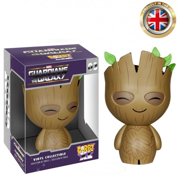 Marvel Guardians of the Galaxy 03 Dorbz XL Groot 2015 Vinyl Collectible