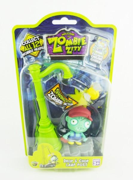 Zombie Zity Sammelfigur Drop & Chop Lamp Post - Handwerker