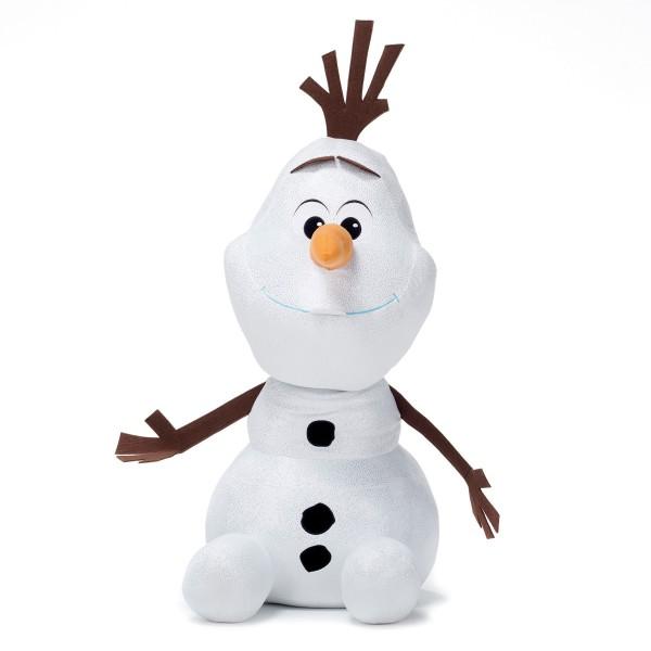Disney Frozen 2 Die Eiskönigin Schneemann Olaf sitzend ca 76cm Glitzerplüsch
