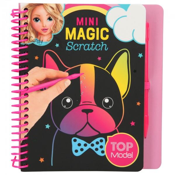 Depesche 10708 TOPModel Mini Magic Scratch Book Candy Kratzbuch