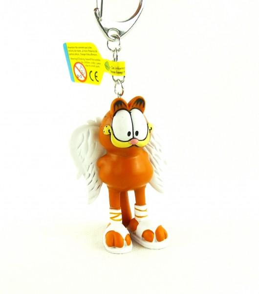 Plastoy Schlüsselanhänger Garfield als Engel ca 7cm