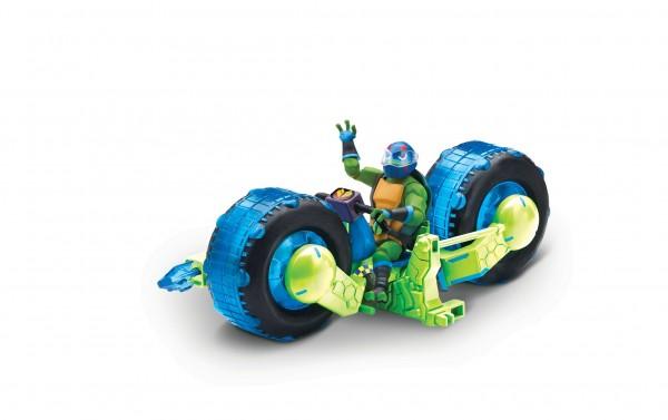 Rise of the Teenage Mutant Ninja Turtles Shell Hog Motorrad +Leonardo 82481