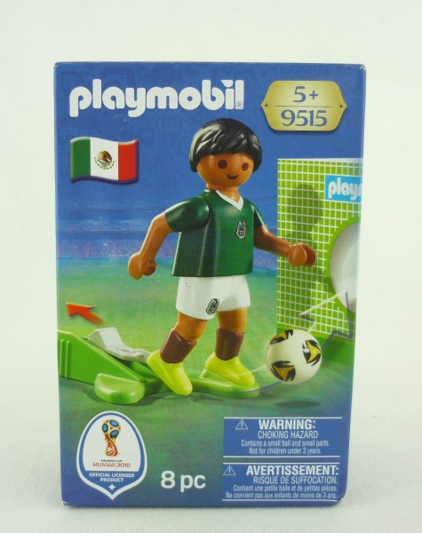 Playmobil 9515 FIFA Worldcup Russia 2018 Nationalspieler Mexiko