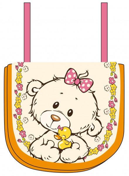 Nici 43356 Classic Bear Bär kleine Schwester Brustbeutel Geldbeutel ca 13x10cm