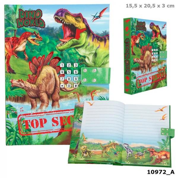 Depesche 10972 Dino World Tagebuch mit Geheimcode & Sound Dinosaurier
