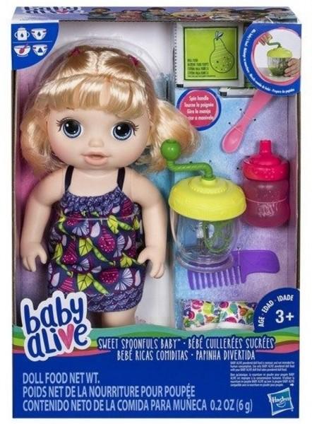 Hasbro Baby Alive Smoothie Kleine Smoothie Puppe mit Zubehör