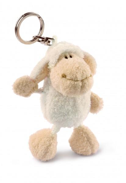 Nici 33411 Schlüsselanhänger weißes Schaf ca 10cm Plüsch