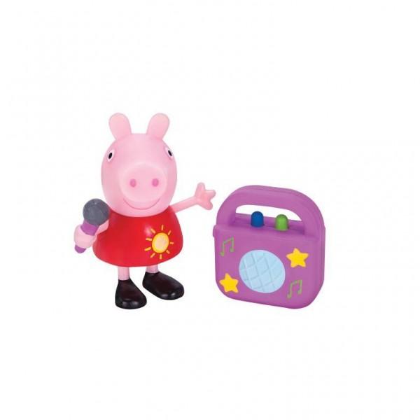 Peppa Pig Figur Spielset Karaoke-Party mit Peppa Jazwares 95775