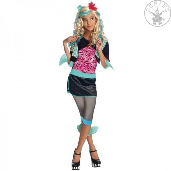 Monster High Kostüm Lagoona Blue M ca 140-152 (5-7 Jahre) Rubies 884789