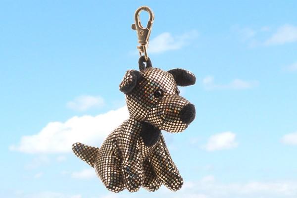 Schaffer 2705 Schlüsselanhänger Anhänger Glitz & Glamour Hund Terrier ca 10cm