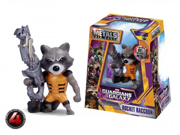 Marvel Guardians of the Galaxy Metals Die Cast Figur Rocket Raccoon 97966