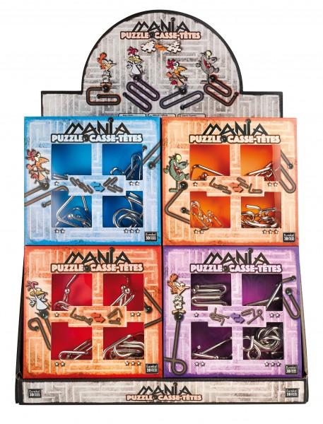 Eureka 3D Puzzle Mania Metallpuzzle Stufen 1-3 (rot) 473202
