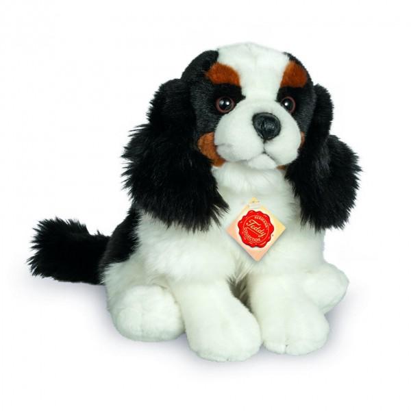 Teddy Hermann 91918 Charles Spaniel sitzend Hund ca. 25cm Plüsch
