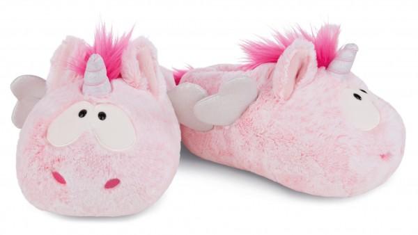 Nici 44374 Hausschuhe Plüsch rosa Einhorn Pink Harmony Gr. 34-37