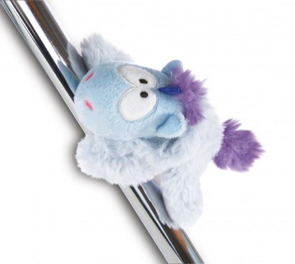 Nici 42442 MagNICI blaues Einhorn Snow Coldson mit Mütze 12cm Plüsch Magnettier