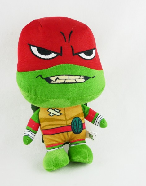 Rise of the Teenage Mutant Ninja Turtles TMNT Plüsch ca 28cm Raphael Rot