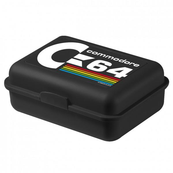 Commodore C64 Brotdose Lunchbox schwarz United Labels 0126211