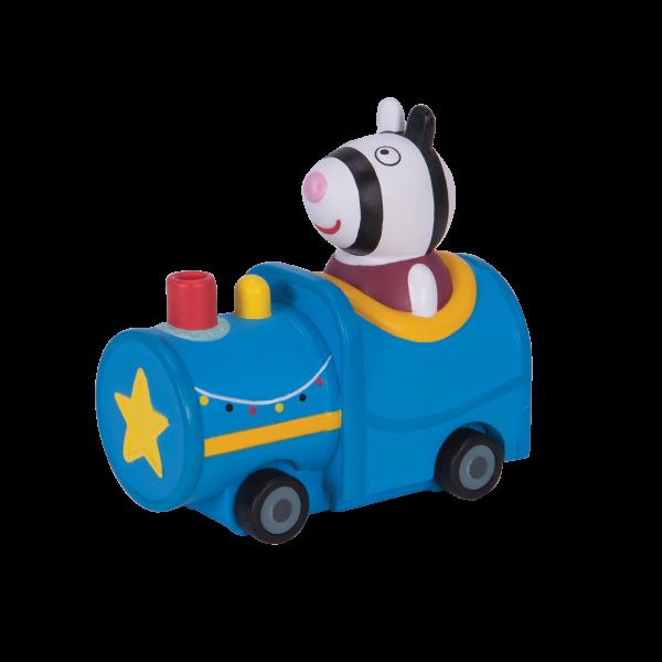 Peppa Pig Mini Flitzer Zoe's blauer Zug Jazwares 95789