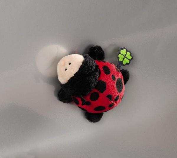 Nici 36861 MagNICI Marienkäfer Glückskäfer Ladybug Plüsch ca 12cm Magnettier