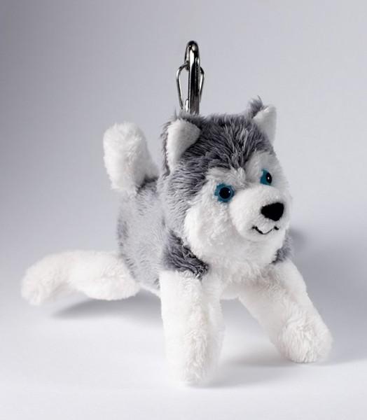 Schaffer 0130 Schlüsselanhänger Schlittenhund Husky Plüsch ca 12cm