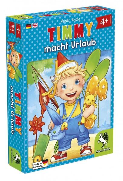 Timmy macht Urlaub Kinderspiel Geschicklichkeit Reisespiel Pegasus Spiele 66512G