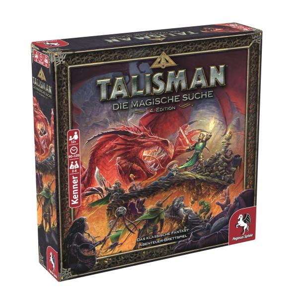 Talisman Die Magische Suche - 4. Edition Fantasy-Abenteuer Pegasus Spiele 56200G