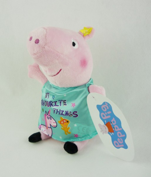 Peppa Pig Peppa Wutz Plüsch Kuscheltier ca 20cm - My Favourite Things