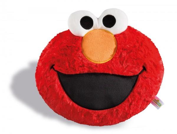 Nici 41977 Elmo Sesamstraße Kissen Kopf figürlich Plüsch ca 28x24cm