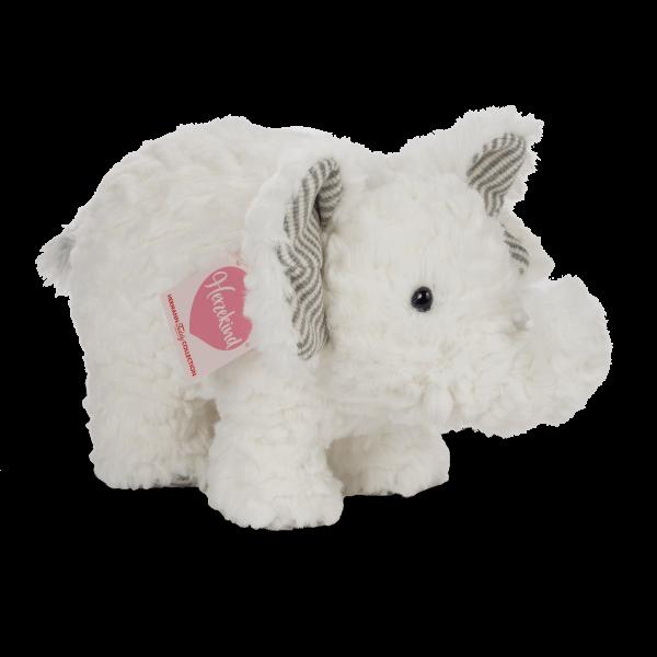 Teddy Hermann 93885 Elefant Cooper Herzekind Plüsch Kuscheltier ca 23cm