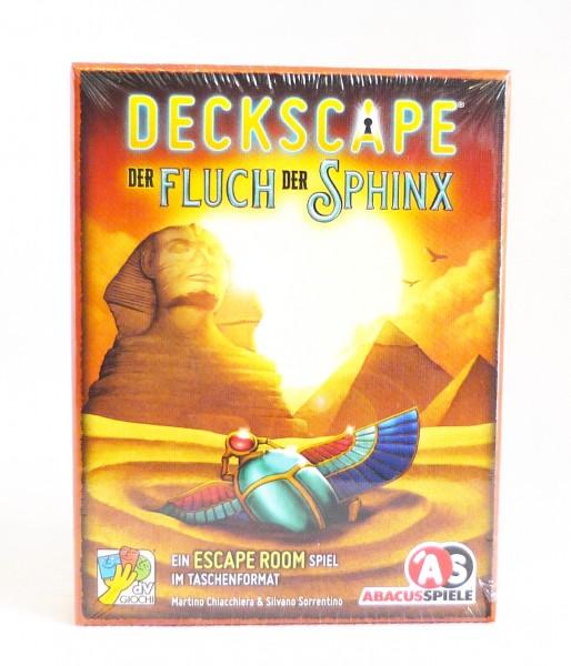 Deckscape - Escape Room im Taschenformat - Der Fluch der Sphinx
