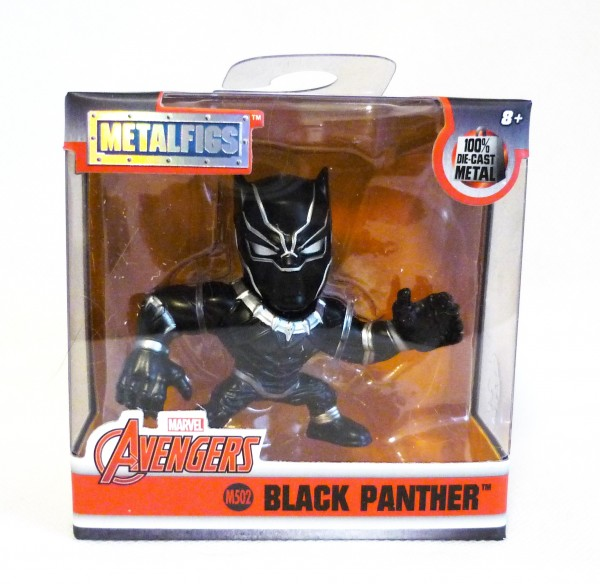 Metalfigs M502 Marvel Avengers Black Panther ca 6,5cm Sammelfigur Die-Cast