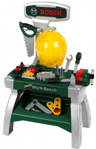 Bosch Mini Werkzeugbank Junior für Kinder hoch inkl. Helm 8612