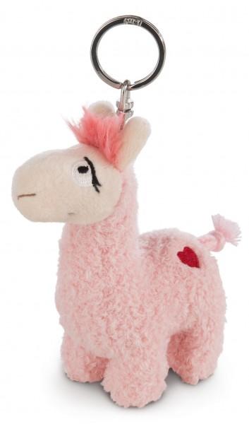 Nici 42700 Schlüsselanhänger rosa La-La-Lama-Love ca 10cm Plüsch
