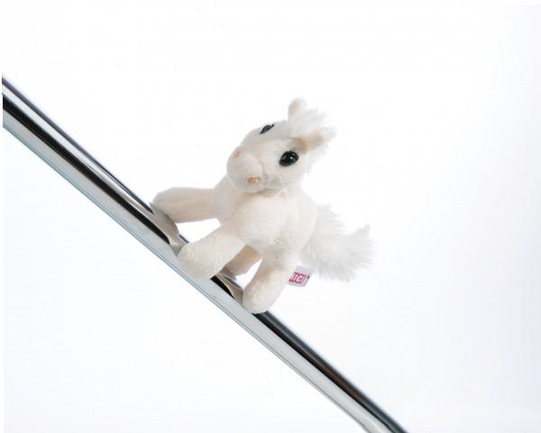 Nici 44893 MagNICI weißes Pferd White Peach stehend ca 12cm Plüsch Magnetfigur